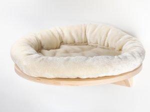 Mensola tonda con cuscino